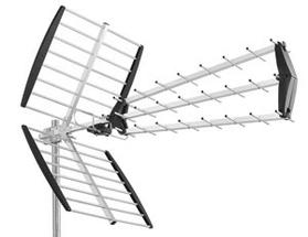 antenna sintonizzazione digitale terrestre