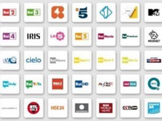 Lista canali digitale terrestre in chiaro ed a pagamento