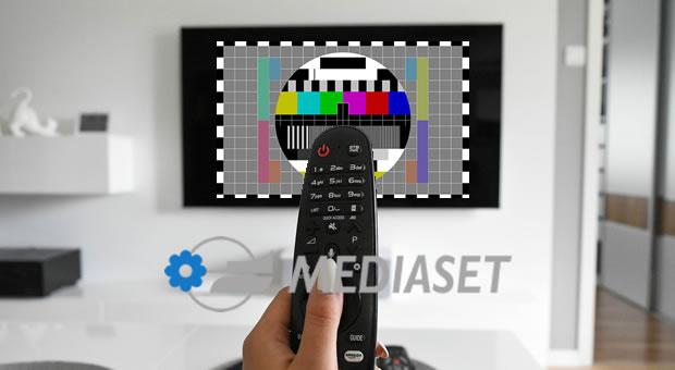 Non si vede Mediaset